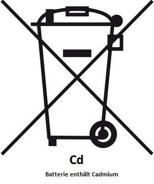 Mülltonne-Symbol-Cd